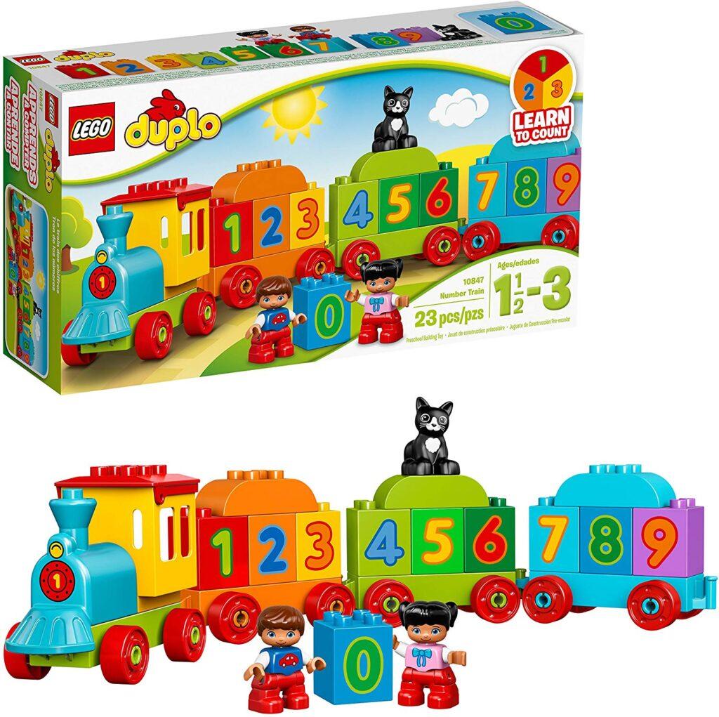 Lego Number Train Set