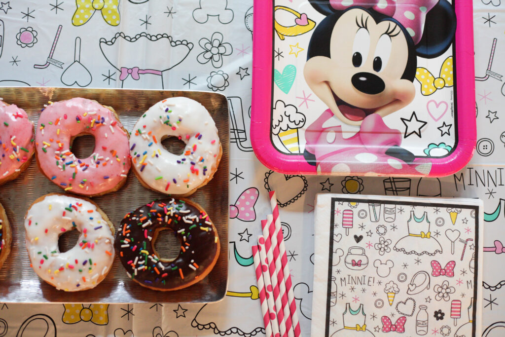 Minnie Mouse theme birthday party and supplies!