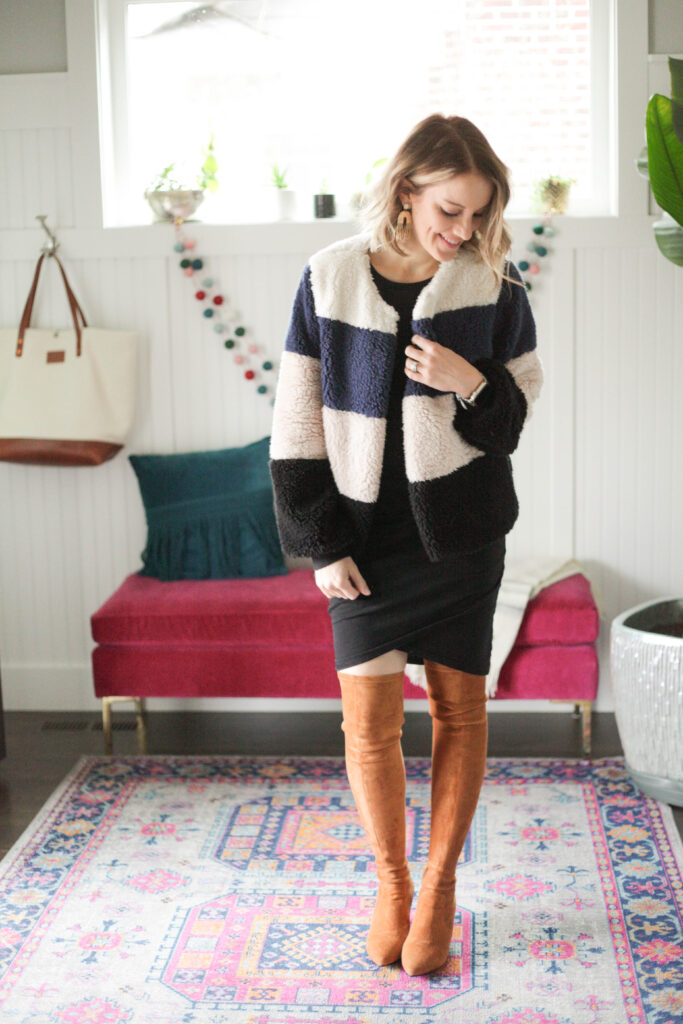 7 Over the Knee Boots Outfit Ideas