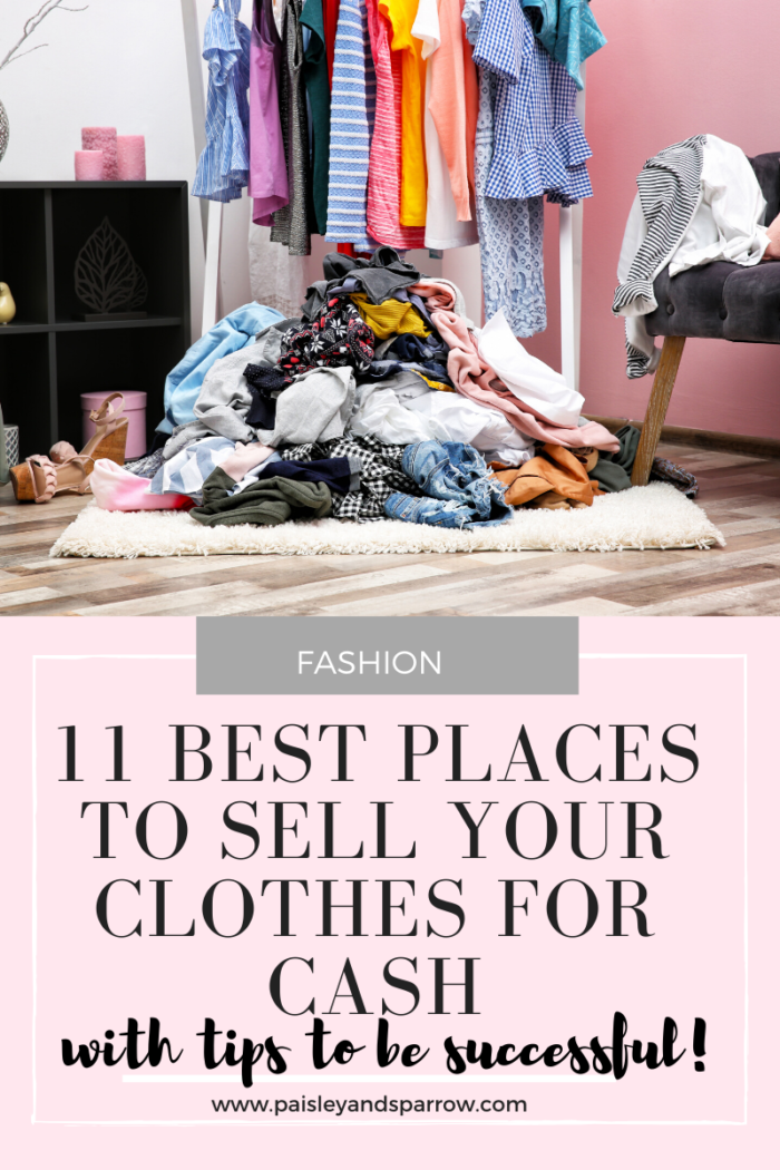 Where to Sell Clothes – 11 Places to Make Money!