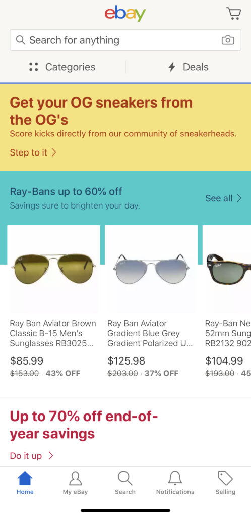 An easy way to sell goods is on ebay