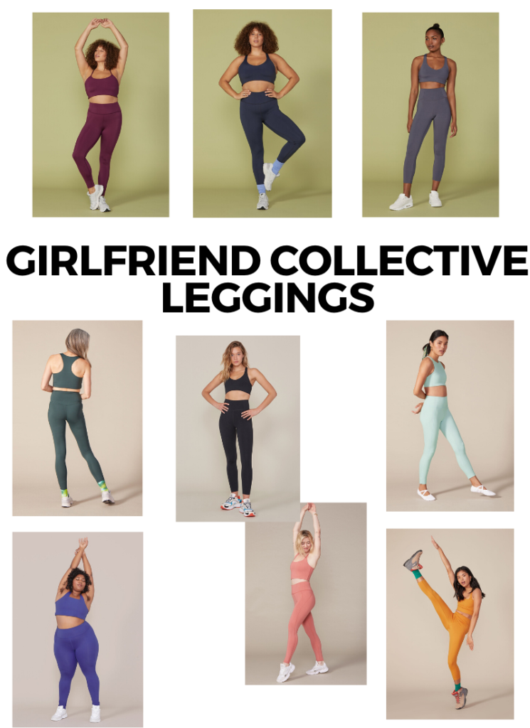 Girlfriend Collective Leggings - Leggings made using recycled materials!
