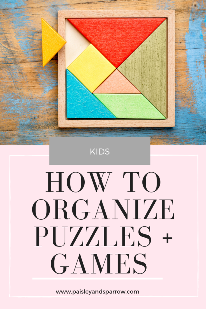 Game and Puzzle Purging + Organization