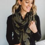 How to Wear A Blanket Scarf 7 Ways