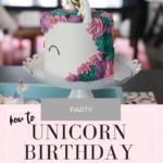Penelope's Unicorn Birthday Party