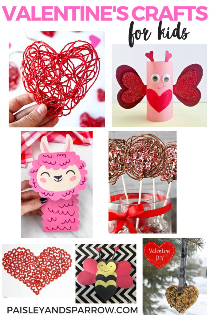 Valentine's Day Crafts for Kids - 7 fun crafts to do with kids old or young!