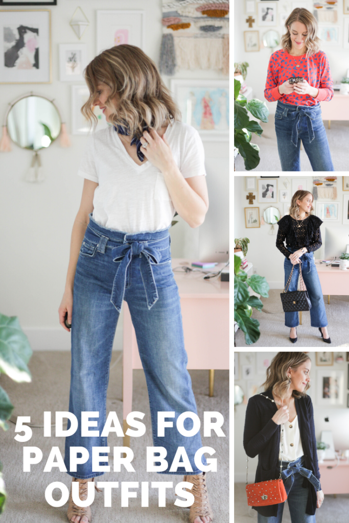 5 Perfect Paper Bag Pants Outfits