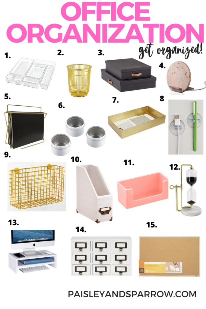17 Products to Organize Your Office