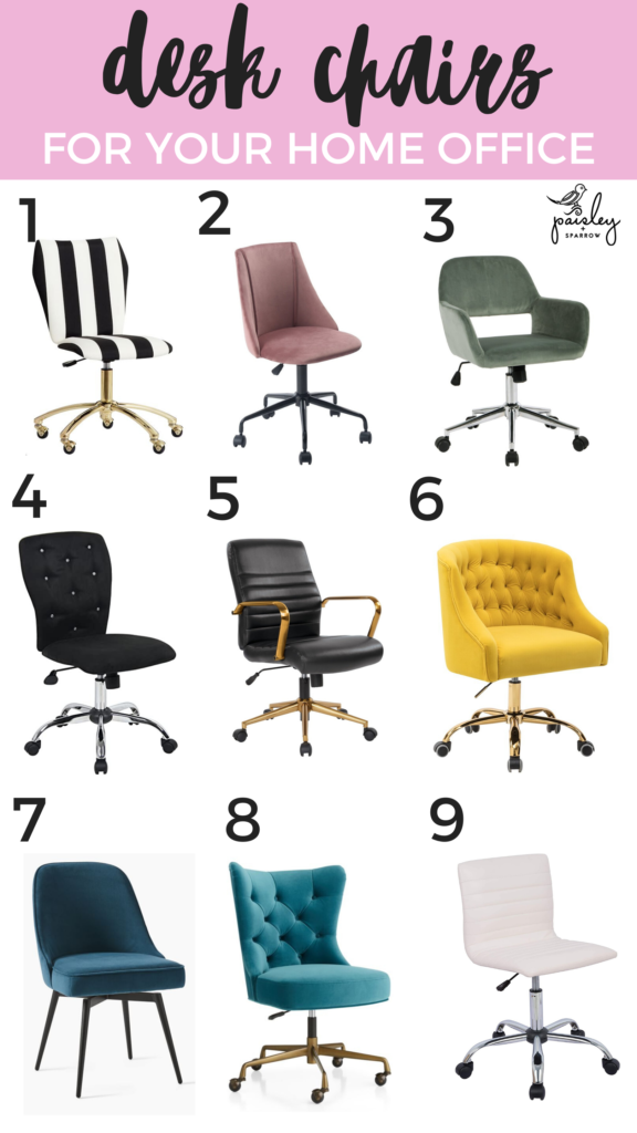 Desk chairs for your home office