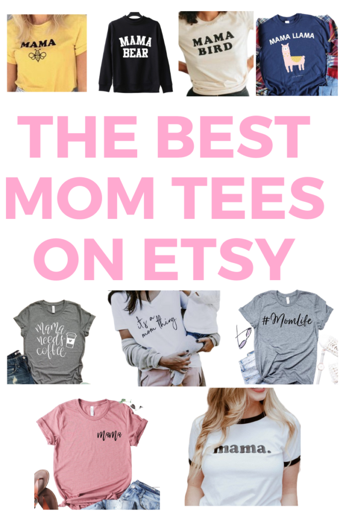 Mama Shirts on Etsy - the Best 9!