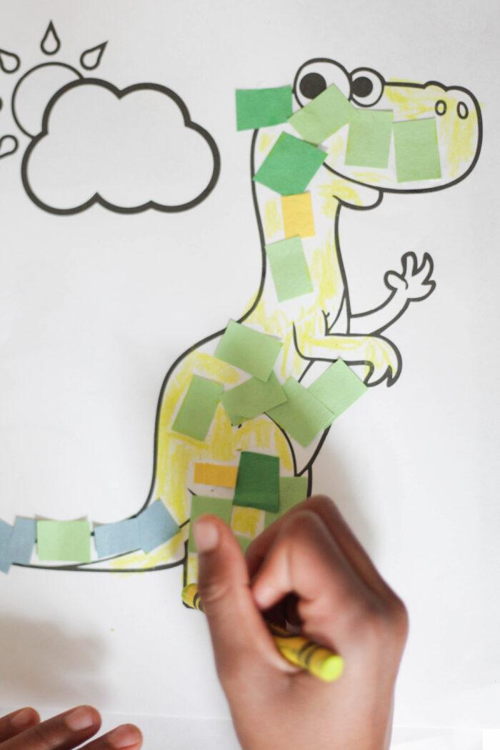 Toddler Unicorn + Dinosaur Activities
