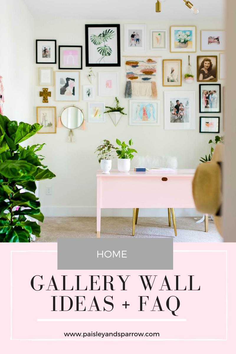 Gallery Wall Ideas + FAQs   20 Creative Ideas   Paisley + Sparrow