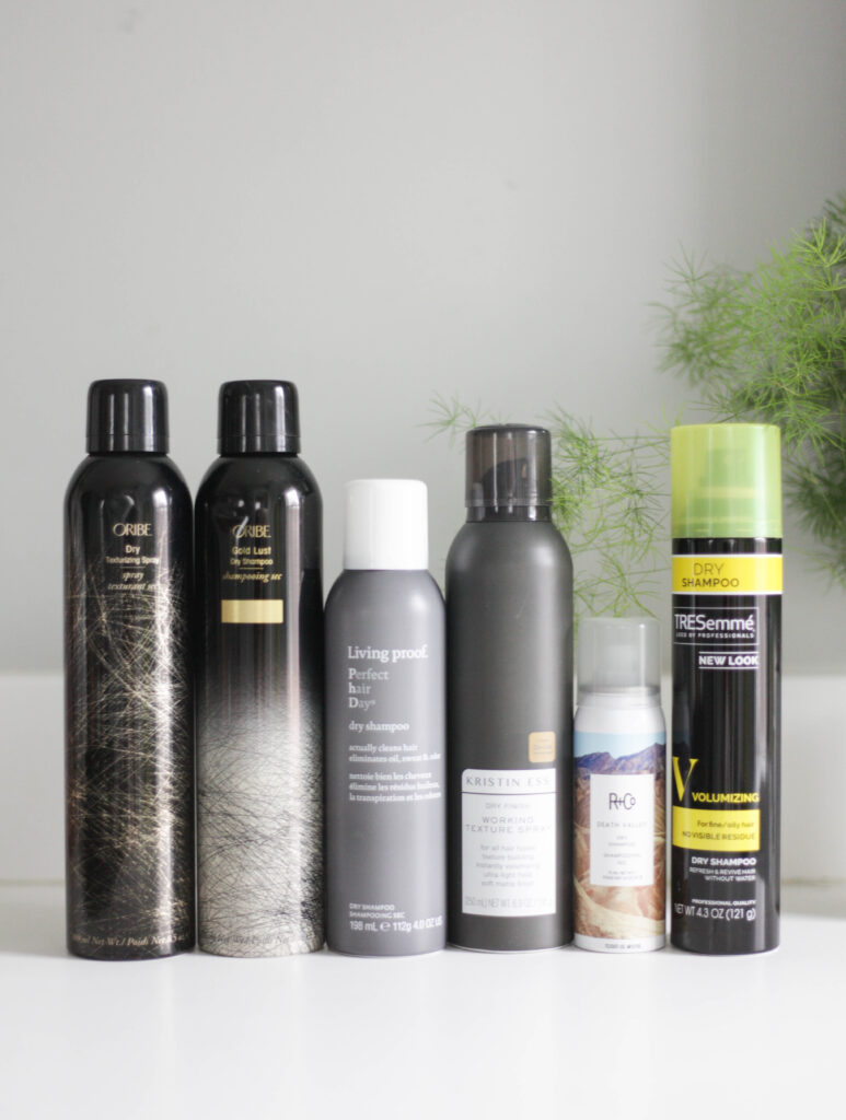 Best dry shampoos and texturizing sprays