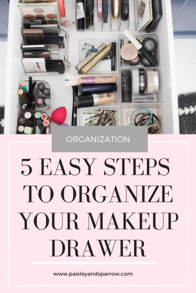 makeup organizer ideas