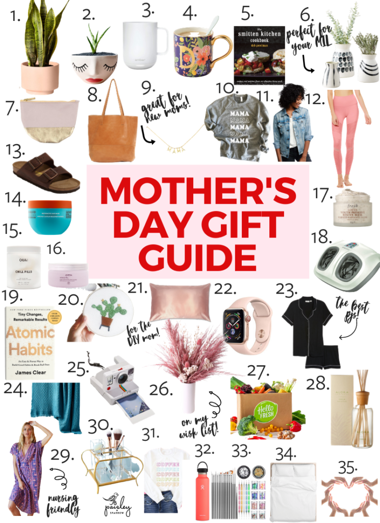 The Best Mother S Day Gift Guide 2020 Paisley Sparrow