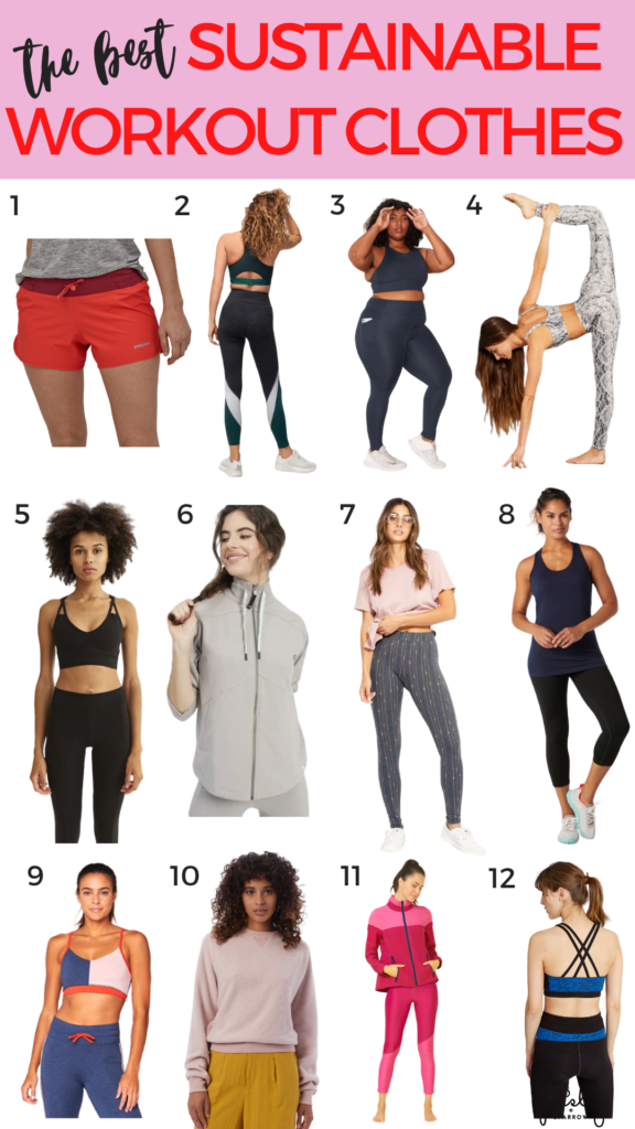 12 Brands Creating Sustainable Workout Clothes