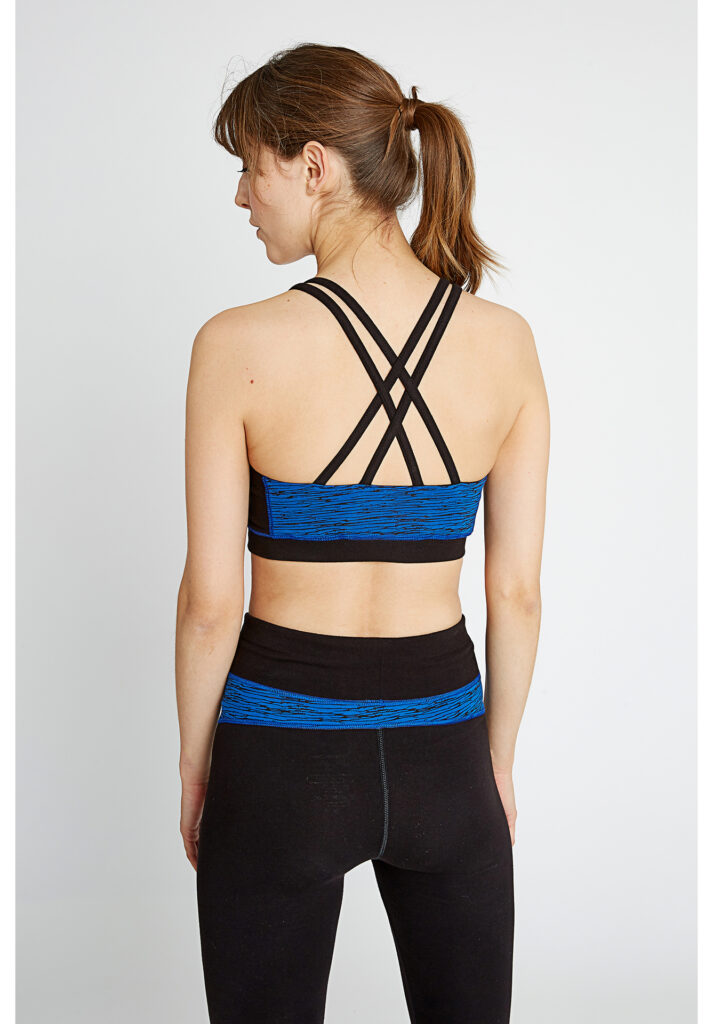 Cross Back Crop Top from People Tree