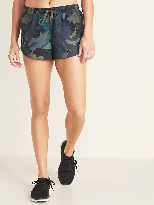 Dolphin Hem Run Shorts