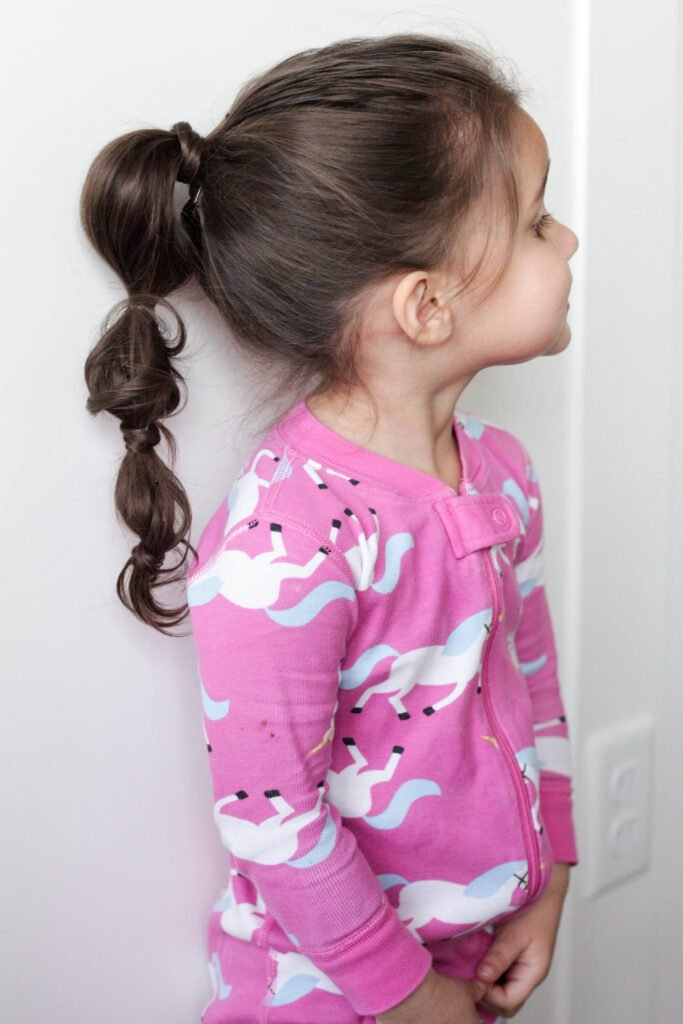 how to do a bubble ponytail