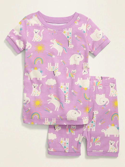 Animal Print Pajamas (Old Navy)