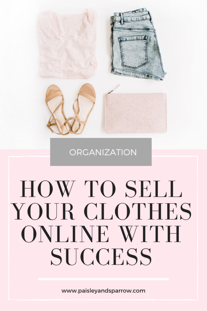 How to Sell Your Clothes Online