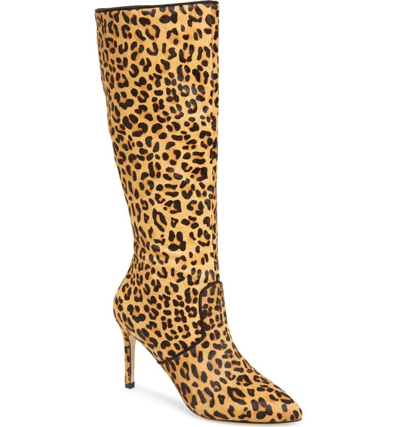genuine calf hair boots