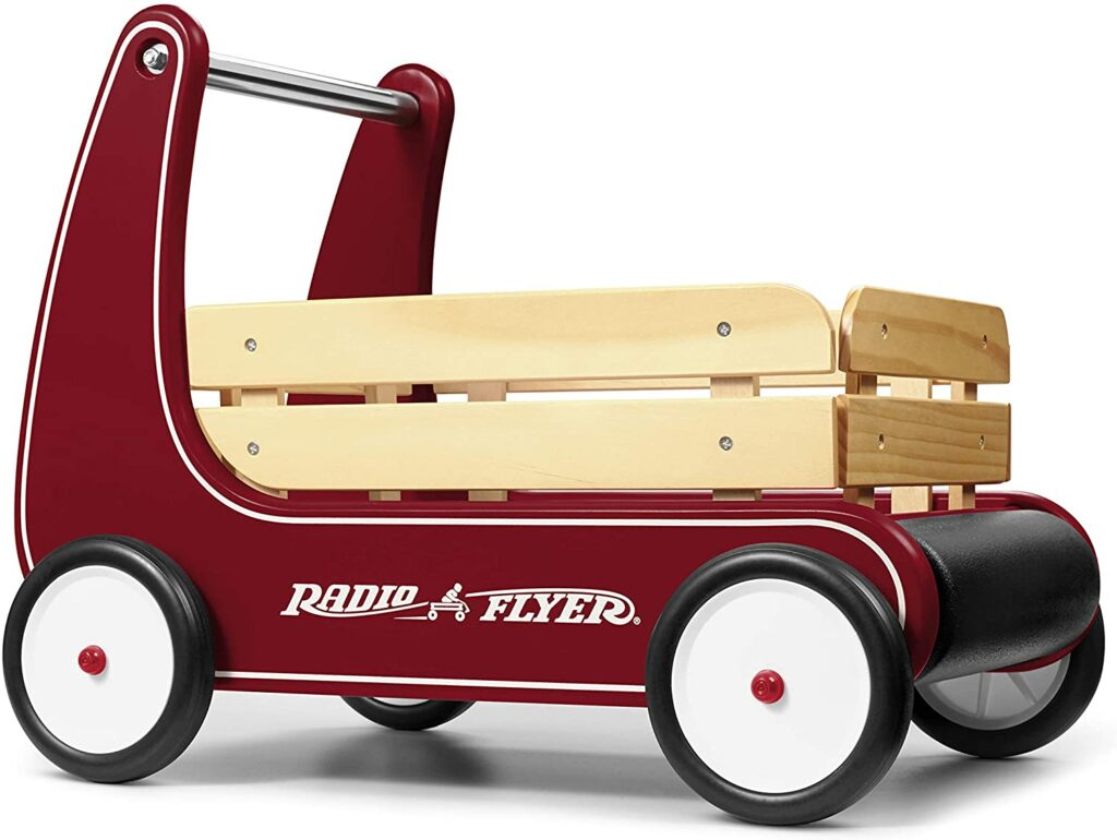Radio Flyer Classic Walker Wagon, Sit to Stand Toddler Toy
