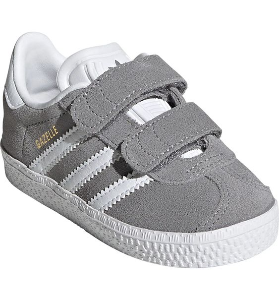 Adidas Gazelle Sneaker (in Pink and Grey)