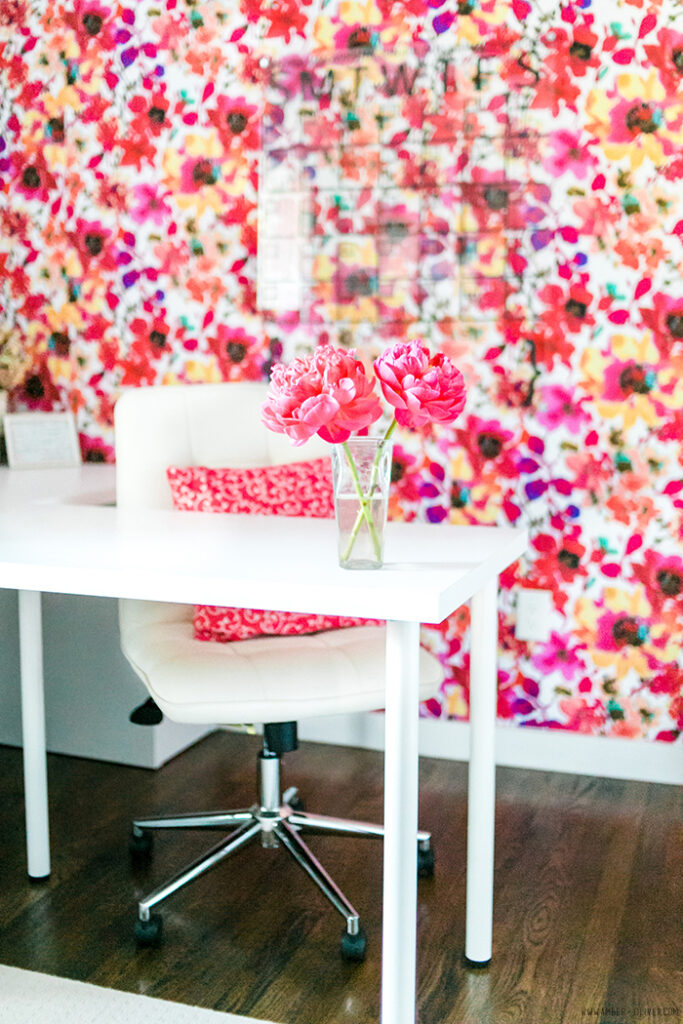 Fabric Covered Accent Wall