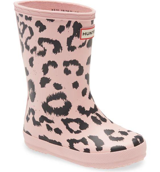 Hunters Original Leopard Waterproof Rain Boot