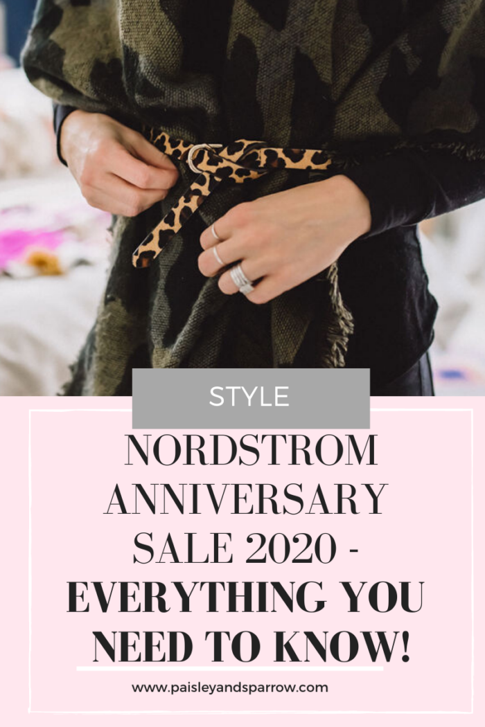 Nordstrom Anniversary Sale 2020 – What you need to know!
