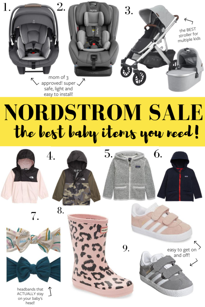 Nordstrom Anniversary Sale Baby Items 2020