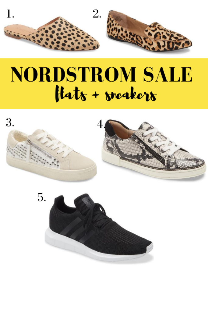 Nordstrom anniversary sale - flats and sneakers