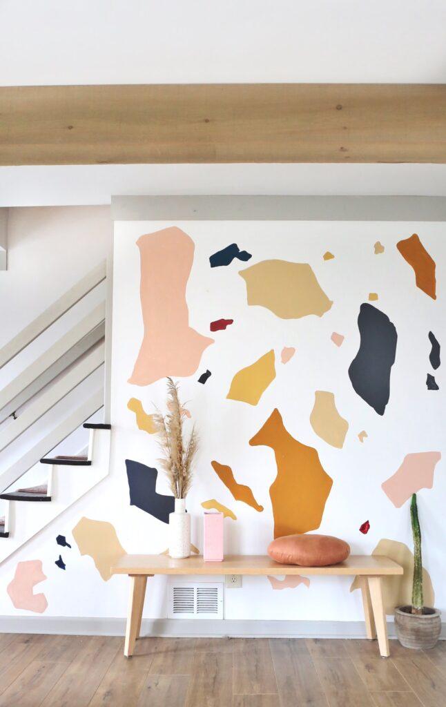Terrazzo Wall Mural