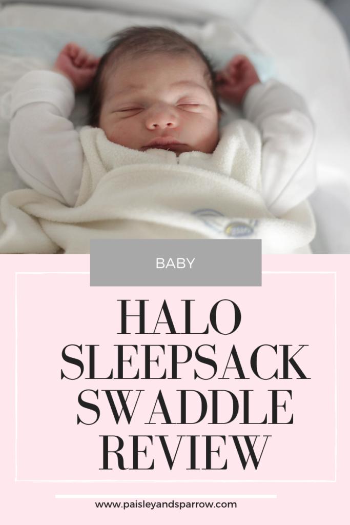 HALO SleepSack Swaddle Review