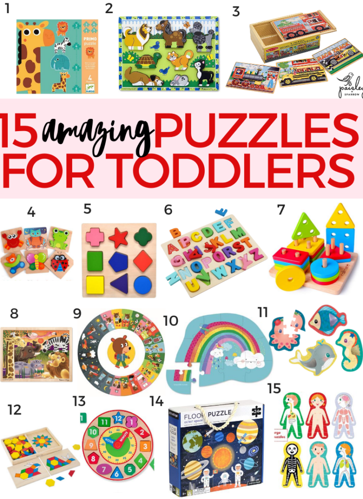 The 15 best puzzles for toddlers