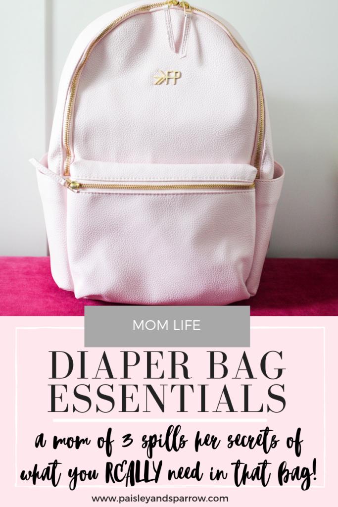 17 Diaper Bag Essentials