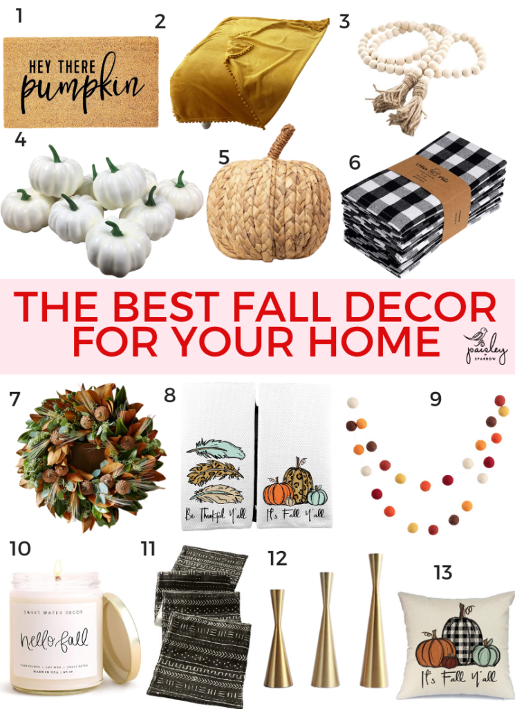 13 Perfect Fall Decor Ideas for Your Home