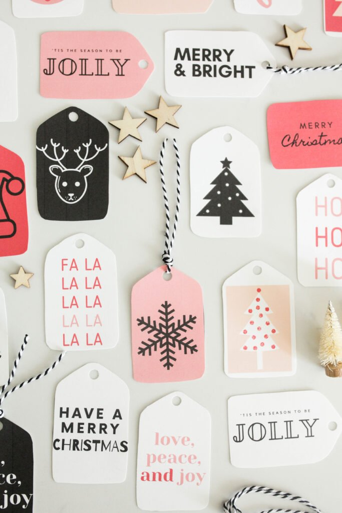 64 Free Printable Christmas Gift Tags