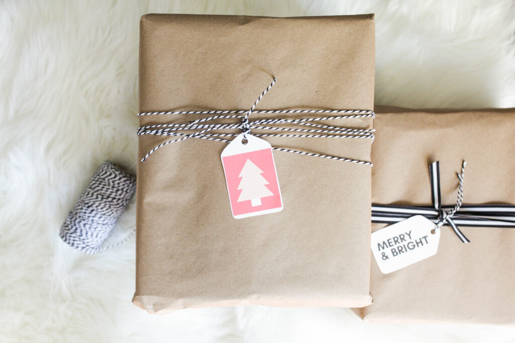 Simple Gift Wrap Ideas