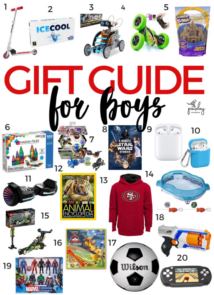Best Gift Ideas for Boys