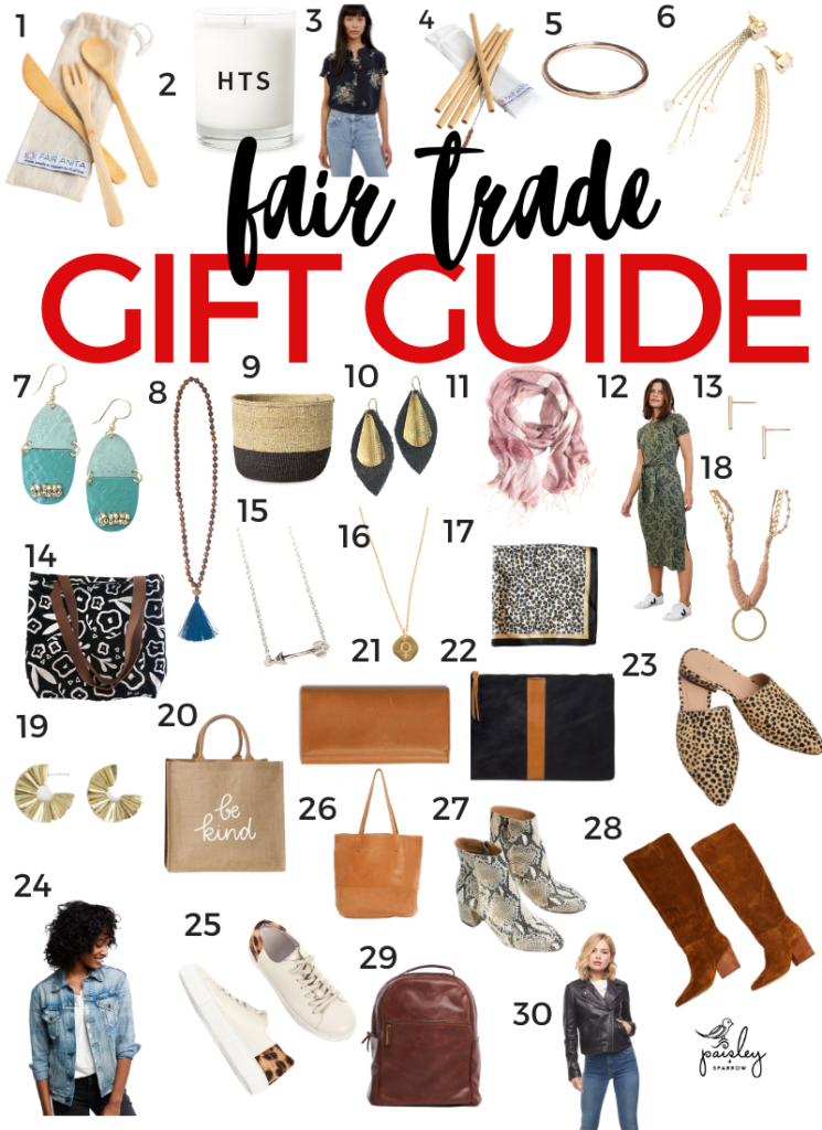 30 Fair Trade Gifts for Her