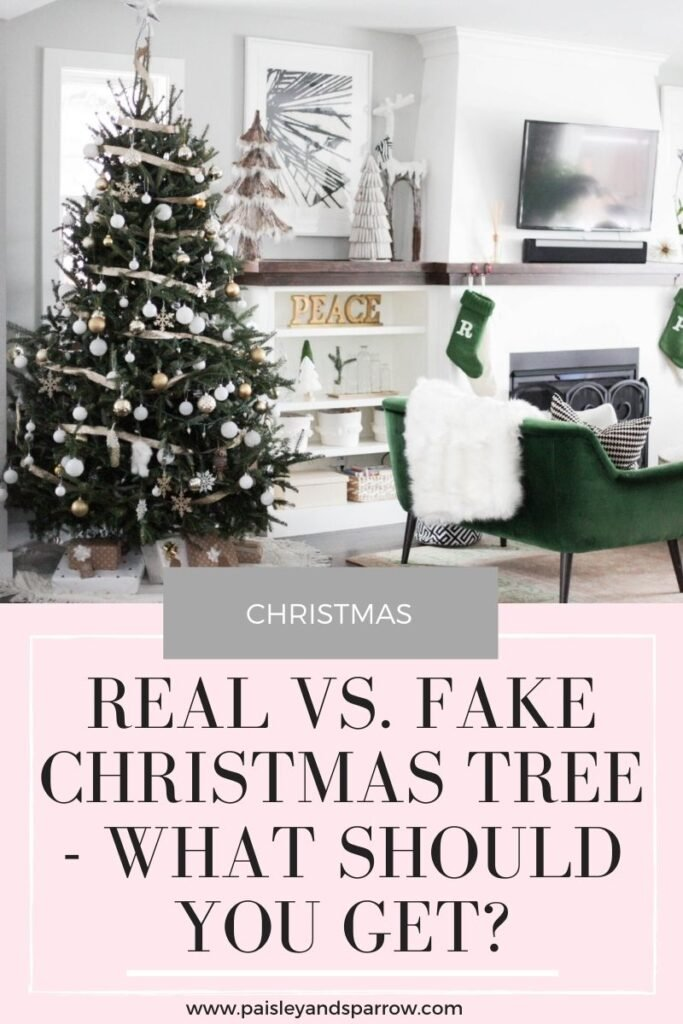 Real vs Fake Christmas Tree - What should you get?