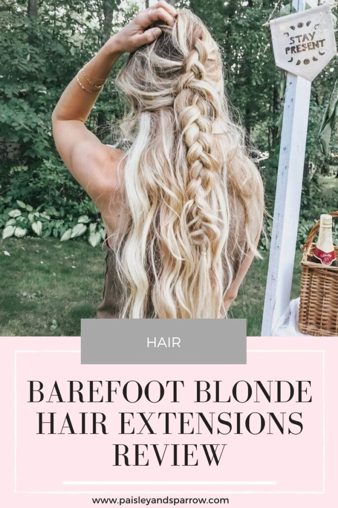 Barefoot Blonde Hair Extensions Review (BFB Fill In & Classic)