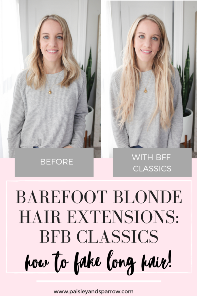 Barefoot Blonde Hair Classic Extensions