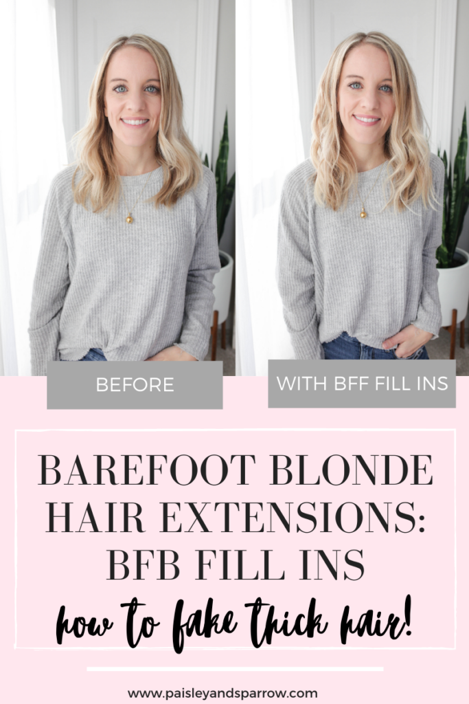 Barefoot Blonde Hair Fill-ins
