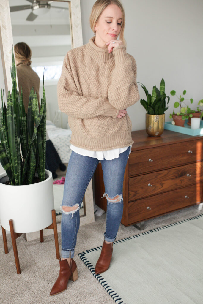 Oversized Sweater Outfits