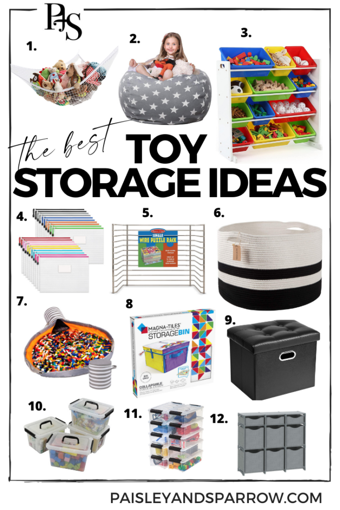 the best toy storage to help you in how to organize toys