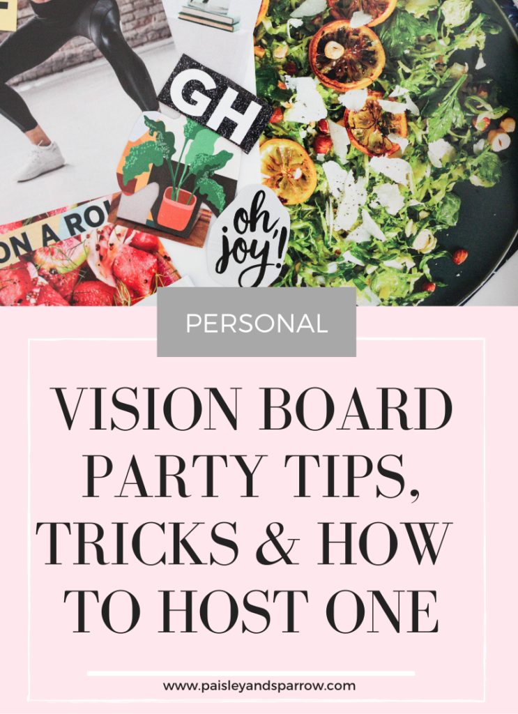 Vision Board Party   Tips & Ideas
