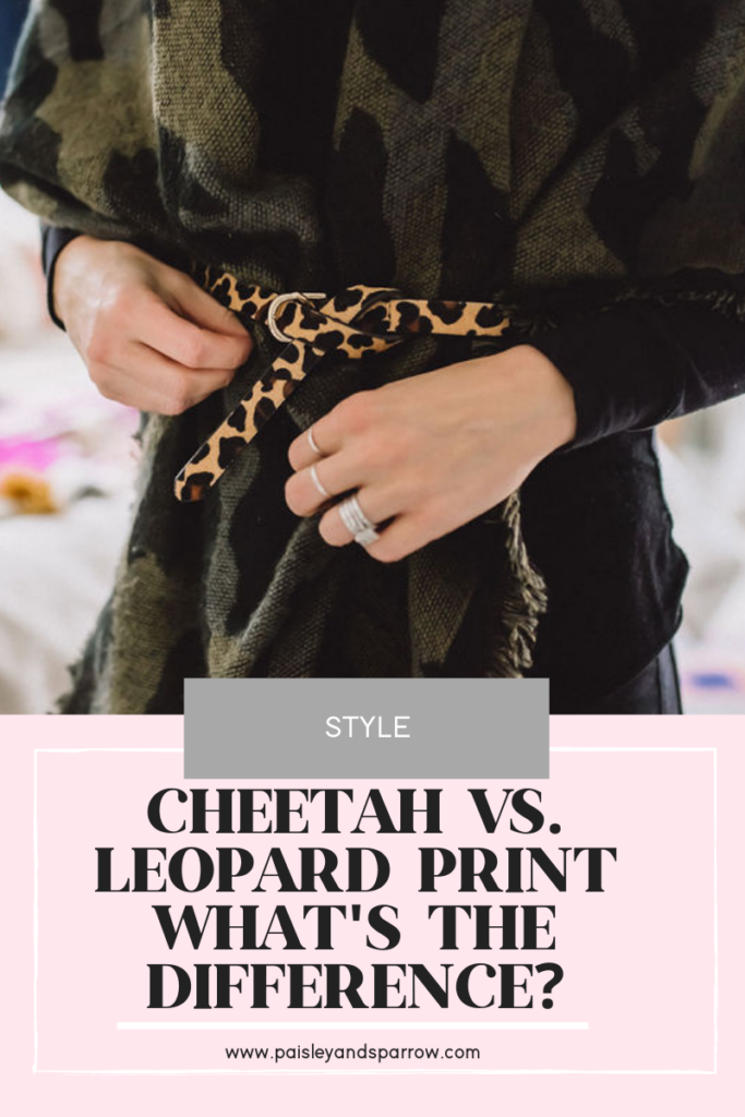 Cheetah vs. Leopard Print | What's the Difference?